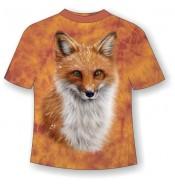 Подростковая футболка с лисой ММ 797