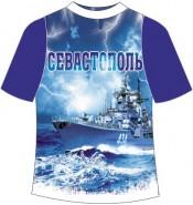 Подростковая футболка Севастополь гроза