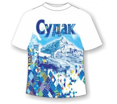 Подростковая футболка Судак-Ромбы