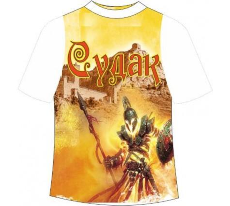 Подростковая футболка Судак Рыцарь