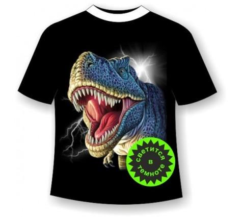 Подростковая футболка Динозавр 474