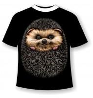 Подростковая футболка Ежик №398