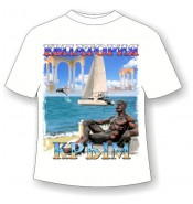 Подростковая футболка Евпатория 502