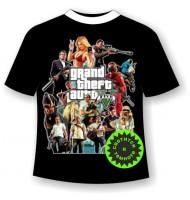 Подростковая футболка GTA