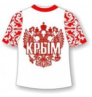 Подростковая футболка Хохлома Крым