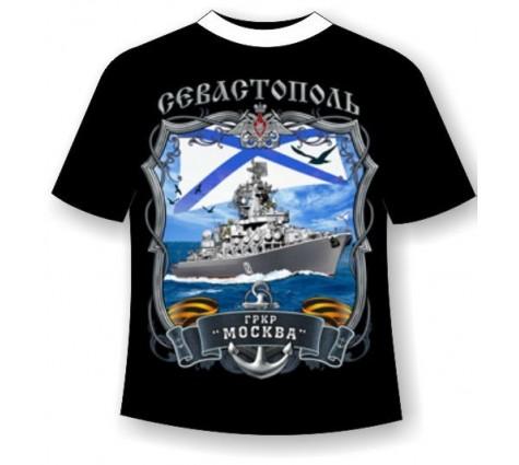 Подростковая футболка Крейсер Москва
