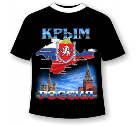 Подростковая футболка Крым-Россия №460