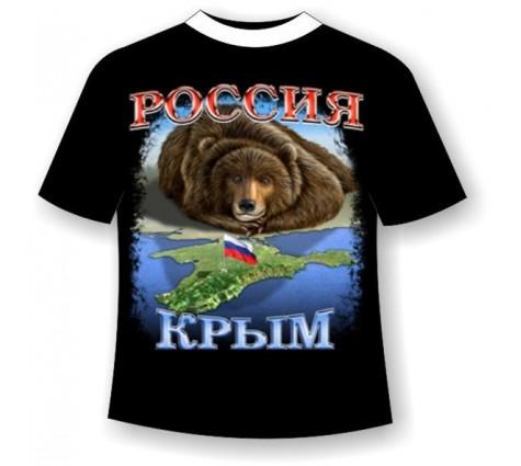 Подростковая футболка Крым-Россия №461