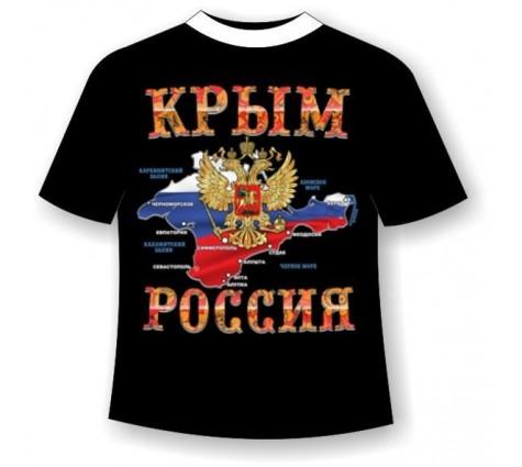 Подростковая футболка Крым-Россия №469