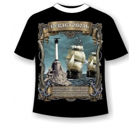 Подростковая футболка Легендарный Севастополь