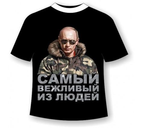 Подростковая футболка Путин