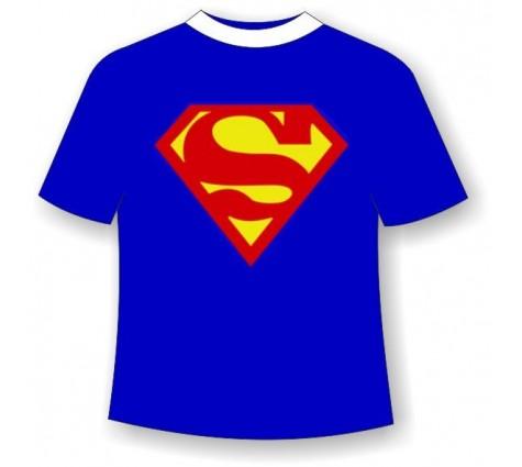 Подростковая футболка Супермен