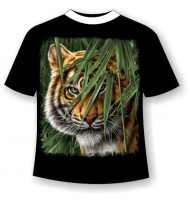 Подростковая футболка Тигр №391
