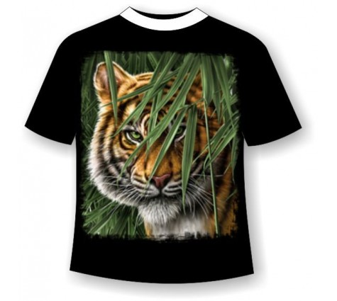 Подростковая футболка с тигром №391
