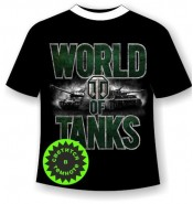 Подростковая футболка World of tanks 2