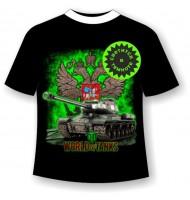 Подростковая футболка World of tanks 3