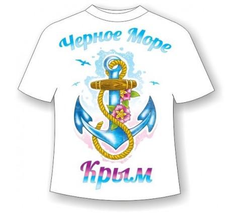 Подростковая футболка Якорь-Крым
