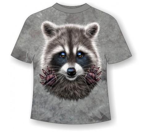 Подростковая футболка Енот ММ 792