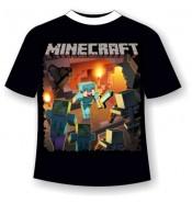 Подростковая футболка Майнкрафт