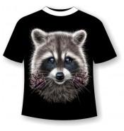 Подростковая футболка Енот 792