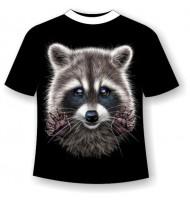 Подростковая футболка Енот