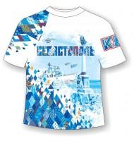 Подростковая футболка Севастополь-Ромбы