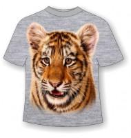 Детская футболка с тигренком 798(B)