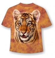 Подростковая футболка с тигренком ММ 798