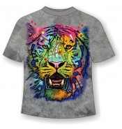 Подростковая футболка Тигр модный ММ800