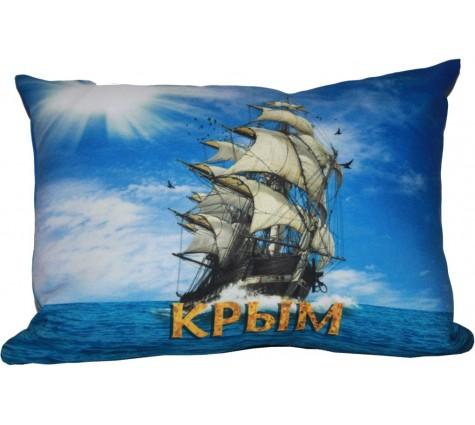 Подушка Крым бригантина