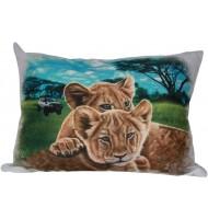 Подушка Львята сафари
