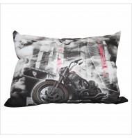 Подушка с мотоциклом 1061