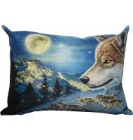 Подушка с волком 809