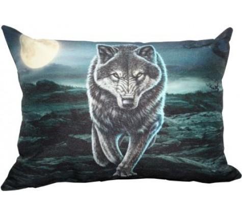 Подушка Волк крадущийся