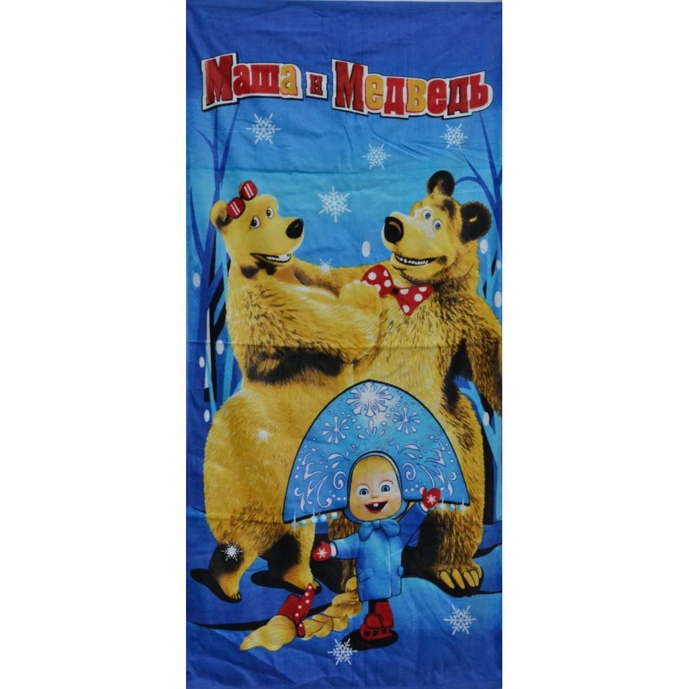 Полотенце Маша и медведь 5