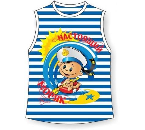 Детская тельняшка Настоящий моряк
