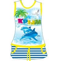 Детское платье Крым дельфин 2