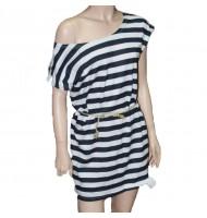 Тельняшка платье 21