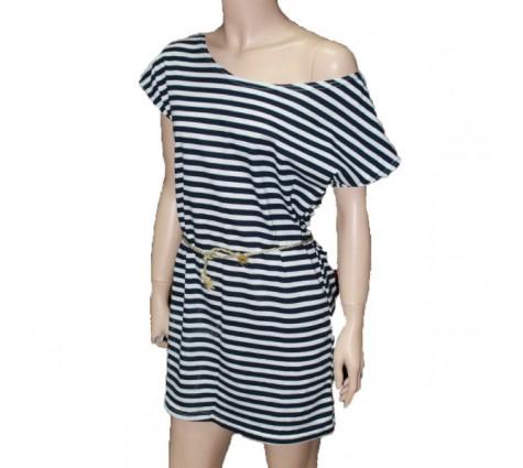 Тельняшка платье 22