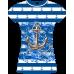Женское платье Морское