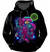 Толстовка Brawl stars Neon 1178
