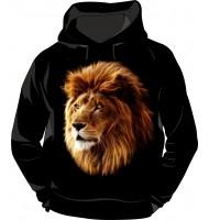 Толстовка с капюшоном Лев
