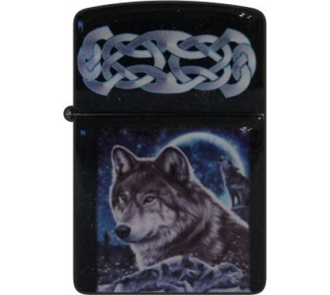Зажигалка Волк №376