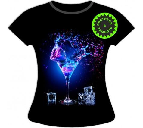 Женская футболка Мартини