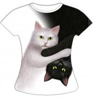 Женская футболка День Ночь