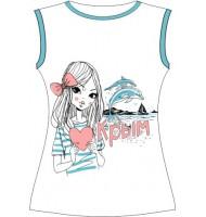 Женская футболка Люблю Крым  105