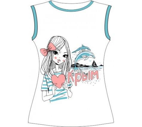 Женская футболка Люблю Крым