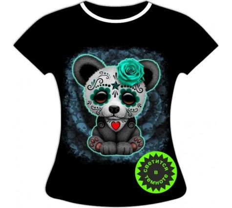 Женская футболка Страшилка