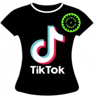 Женская футболка Тик Ток 1059