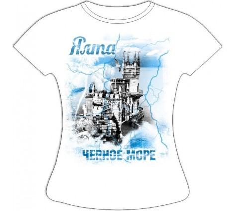 женская футболка Ялта